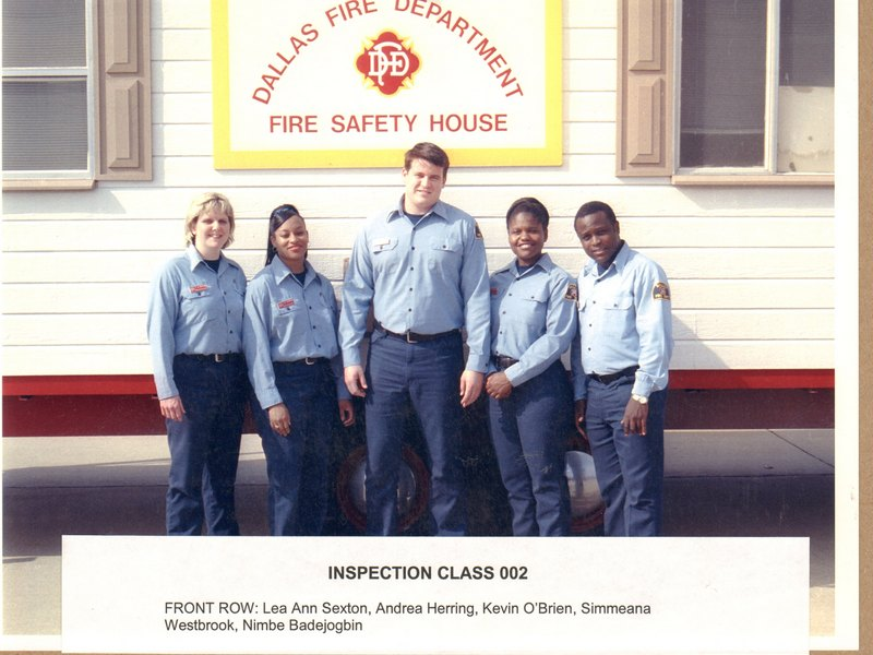 DFD Fire Prevention Officers Class 002