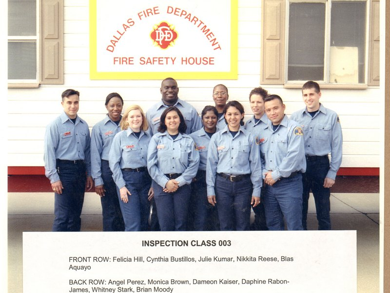 DFD Fire Prevention Officers Class 003