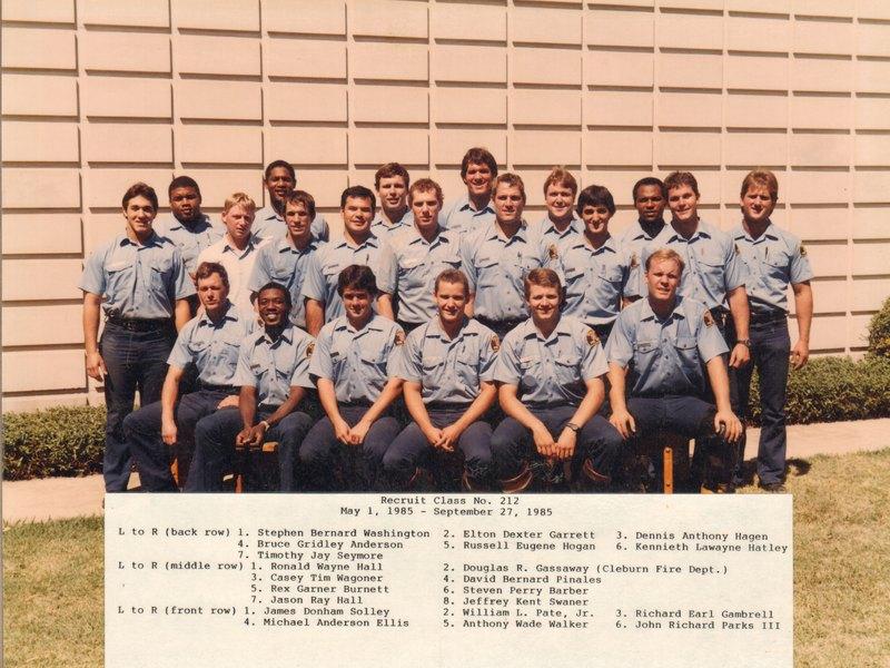 DFR Recruit Class 212 050185