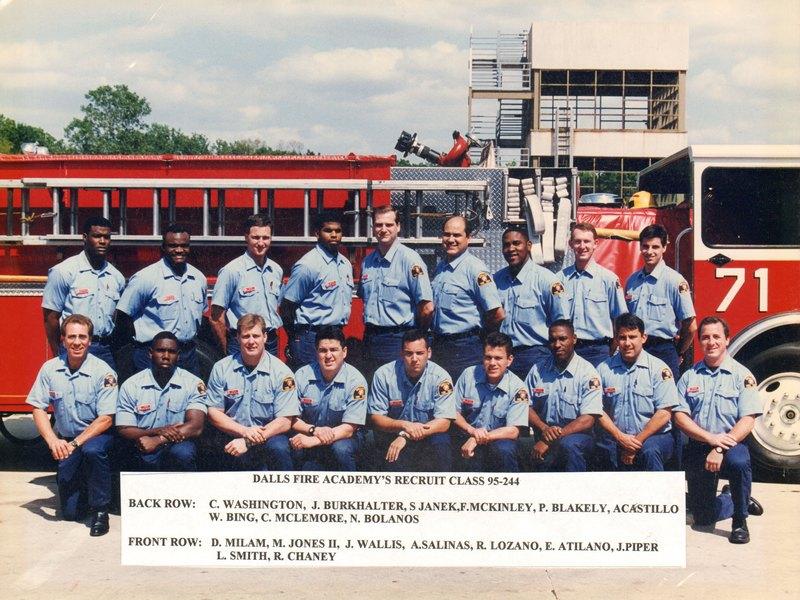DFR Recruit Class 244 1995