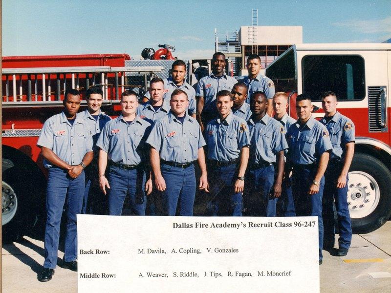 DFR Recruit Class 247 1996