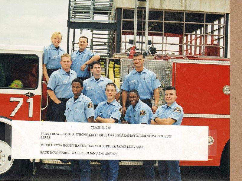DFR Recruit Class 250 1998