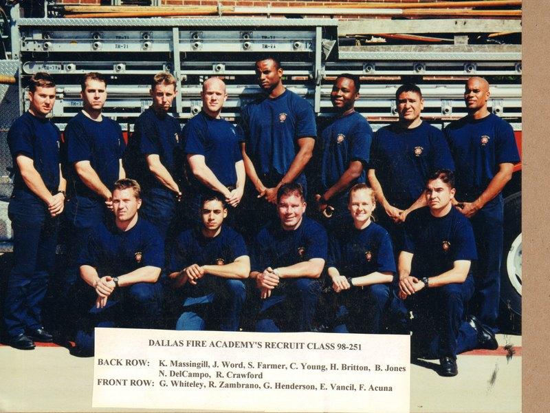 DFR Recruit Class 251 1998