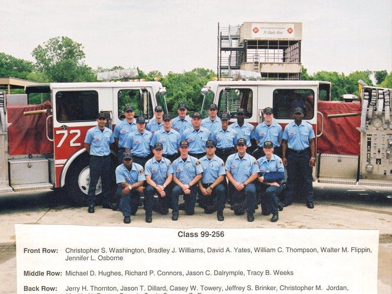 DFR Recruit Class 256 1999