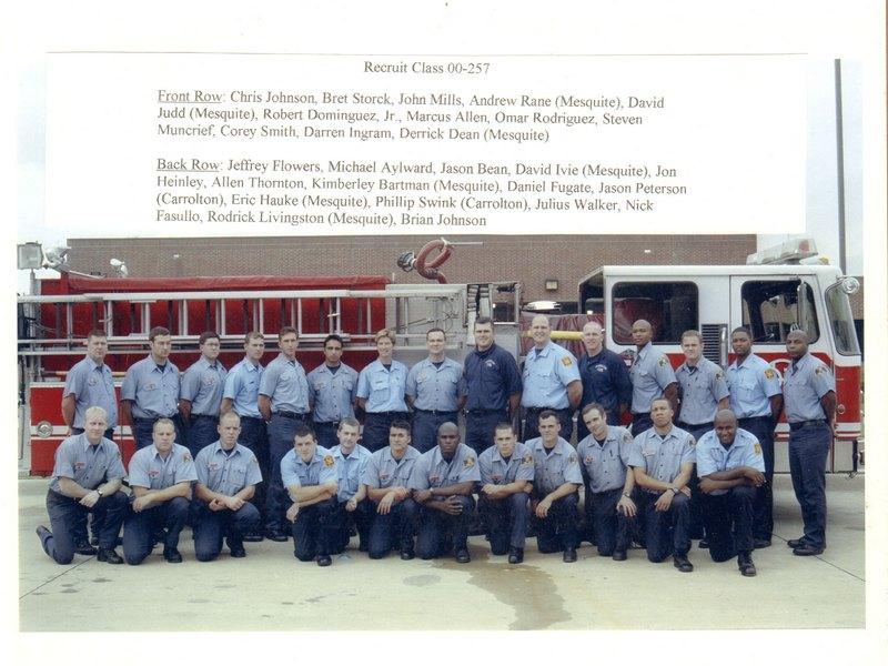 DFR Recruit Class 257 2000