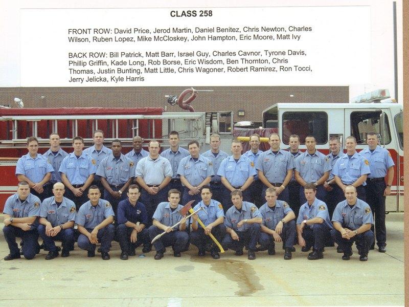 DFR Recruit Class 258 2000