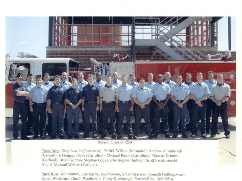 DFR Recruit Class 259 2000