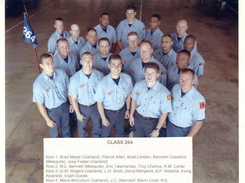 DFR Recruit Class 264 2002