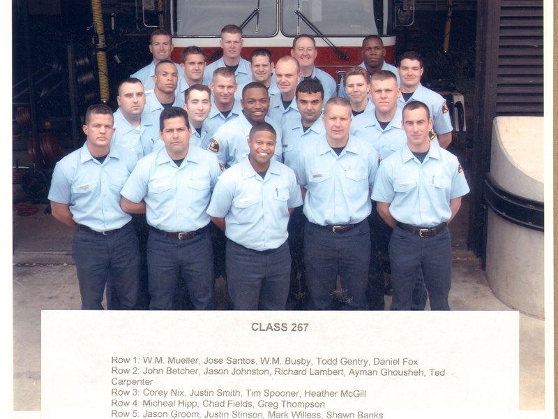 DFR Recruit Class 267 2003