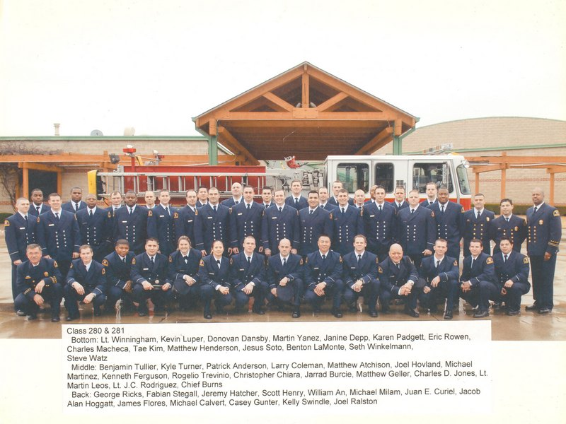 DFR Recruit Class 280 and 281