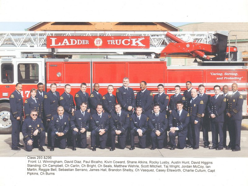 DFR Recruit Class 293 and 296