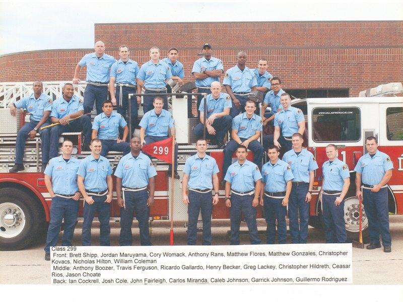 DFR Recruit Class 299