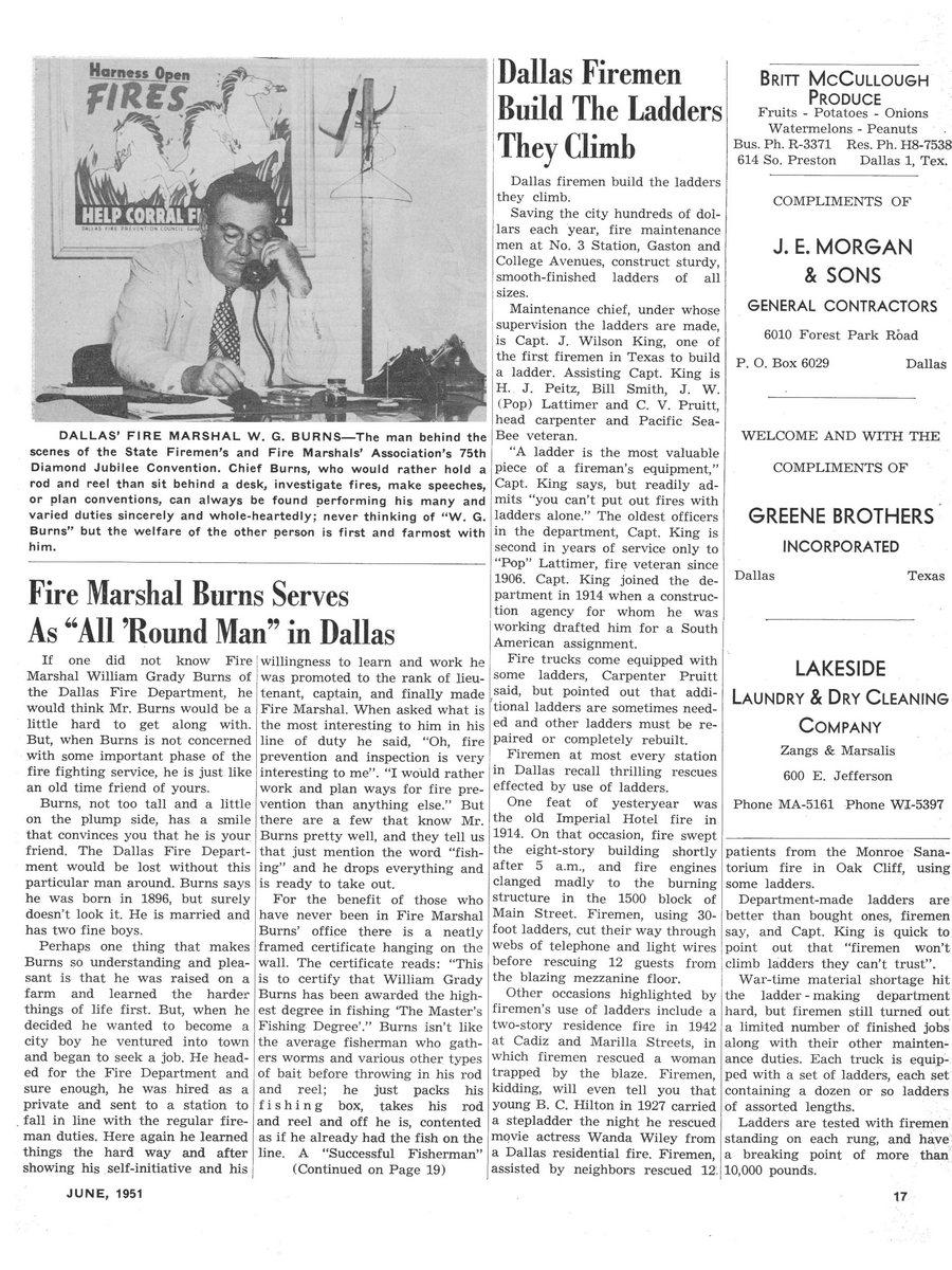 1951 Texas Fireman page 17