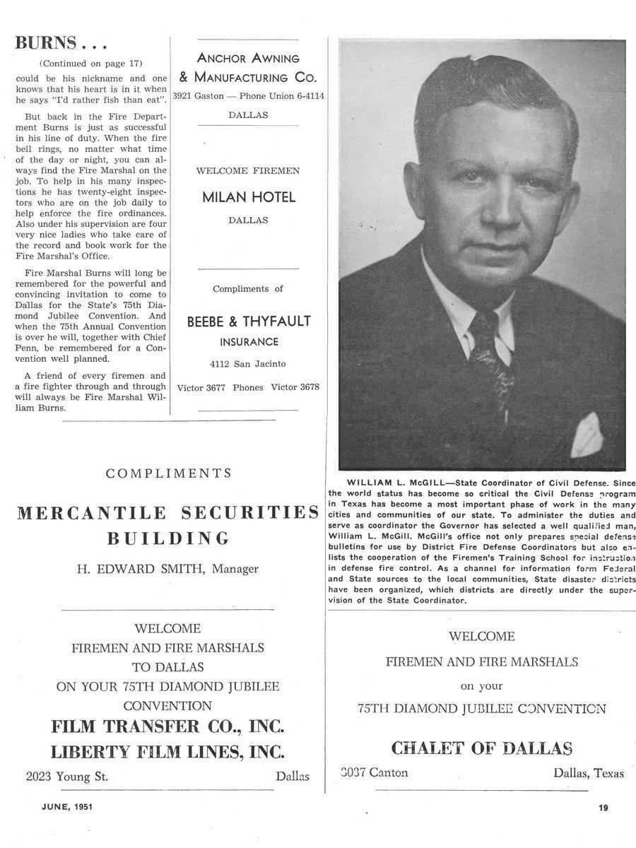 1951 Texas Fireman page 19