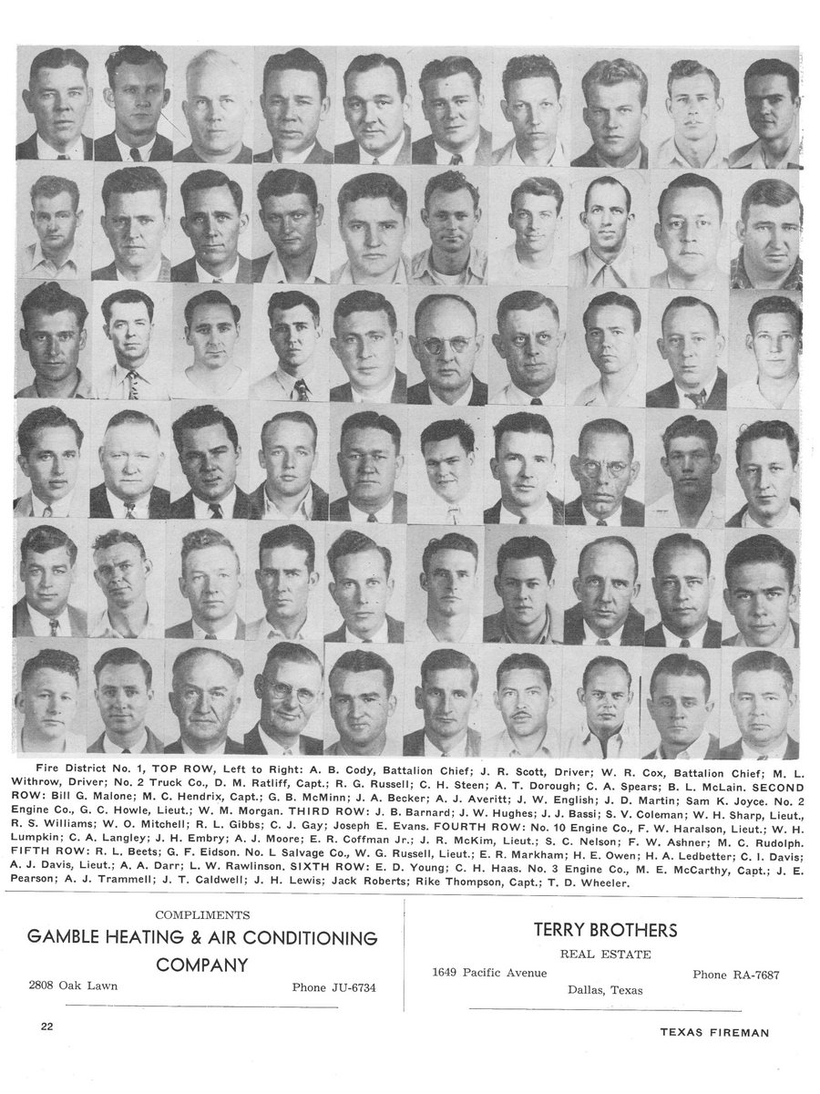1951 Texas Fireman page 22