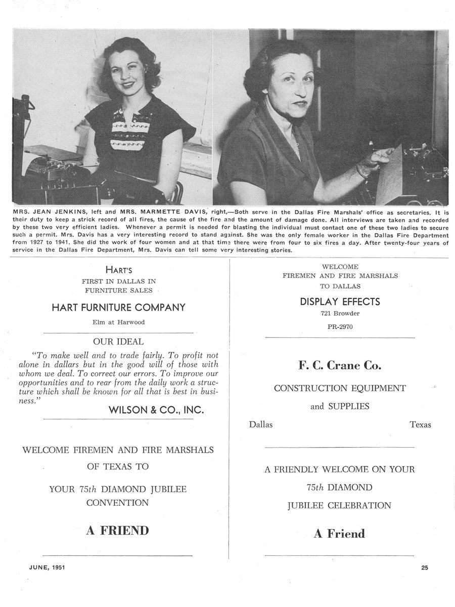 1951 Texas Fireman page 25