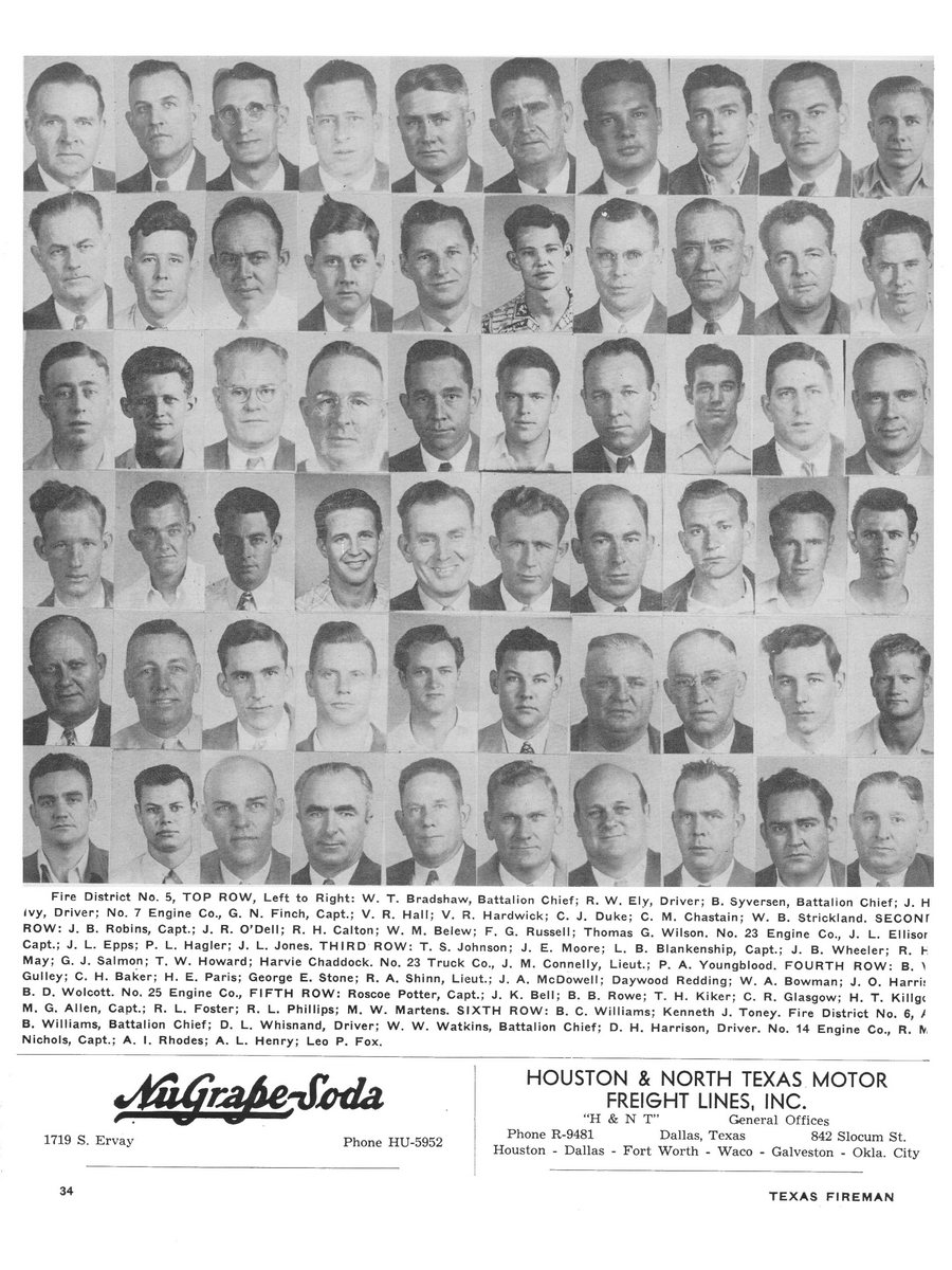 1951 Texas Fireman page 34