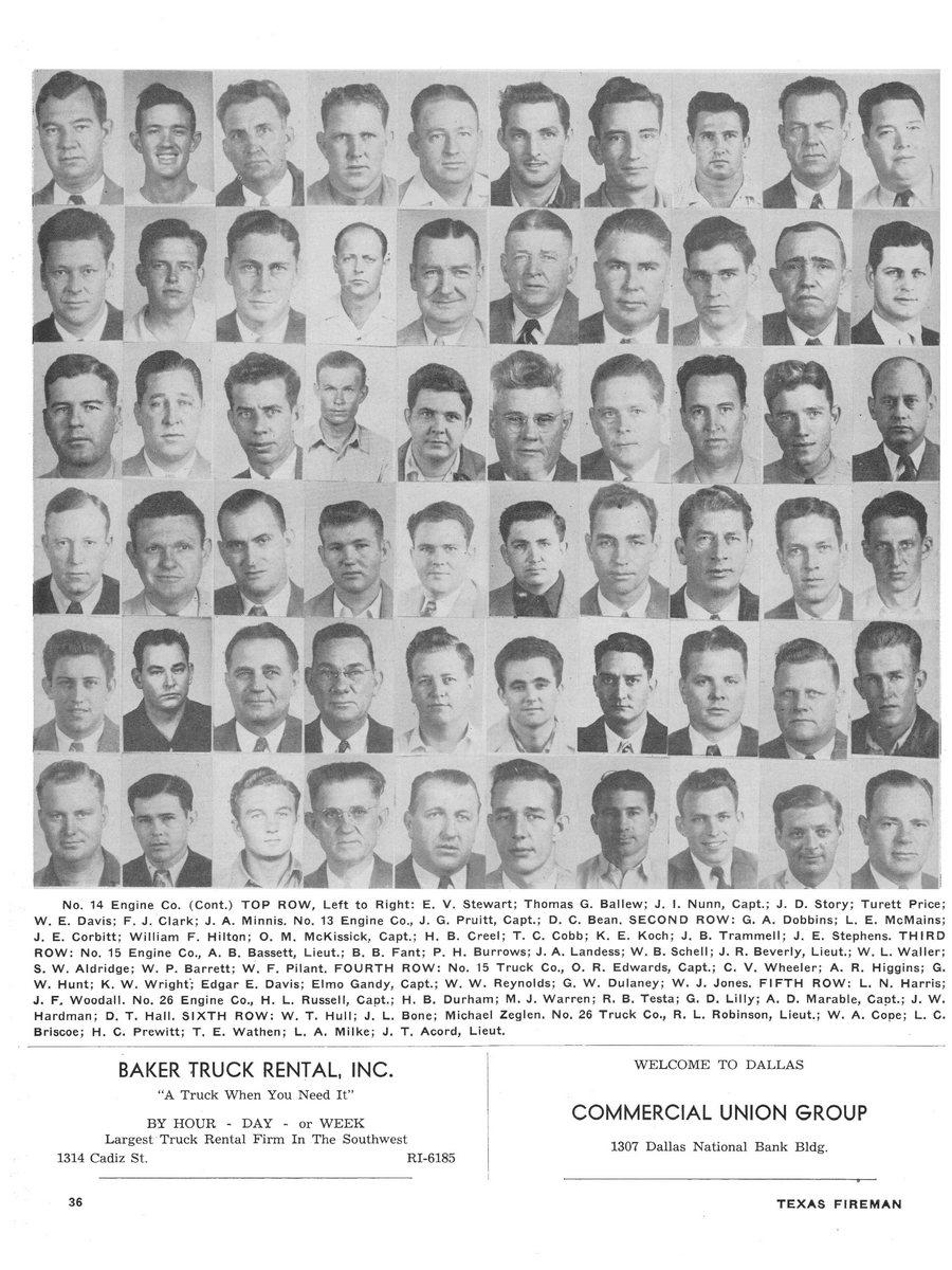 1951 Texas Fireman page 36
