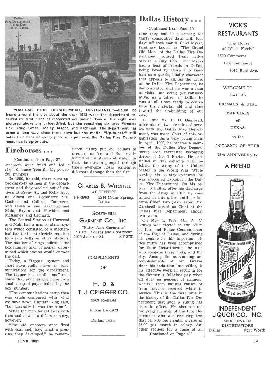 1951 Texas Fireman page 39