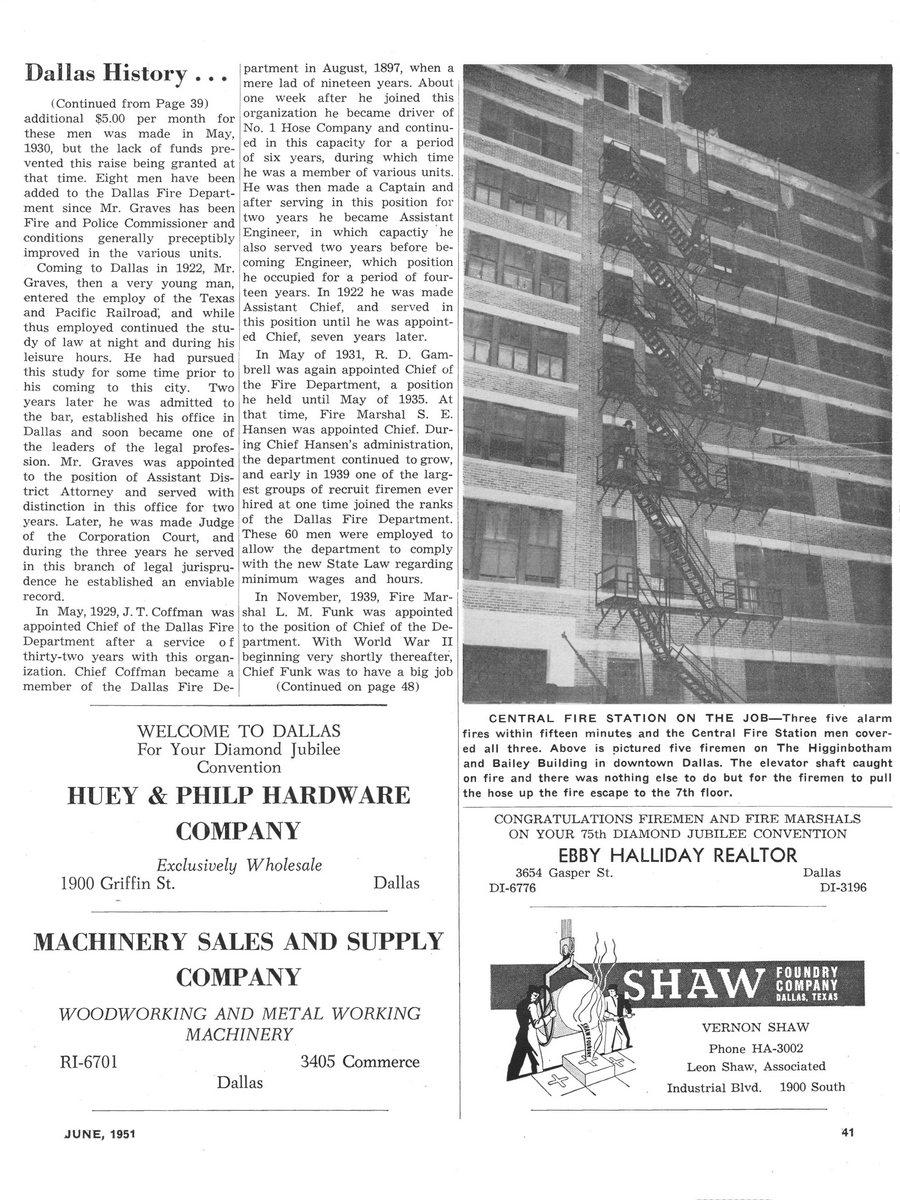 1951 Texas Fireman page 41