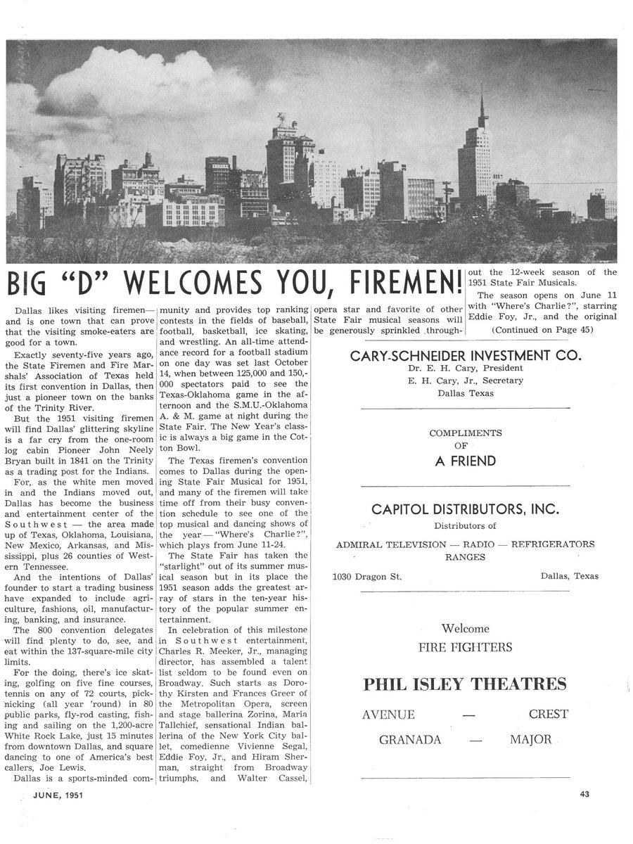 1951 Texas Fireman page 43