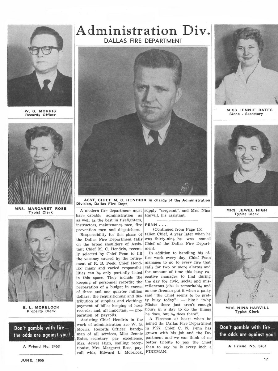 1955 Texas Fireman page 17