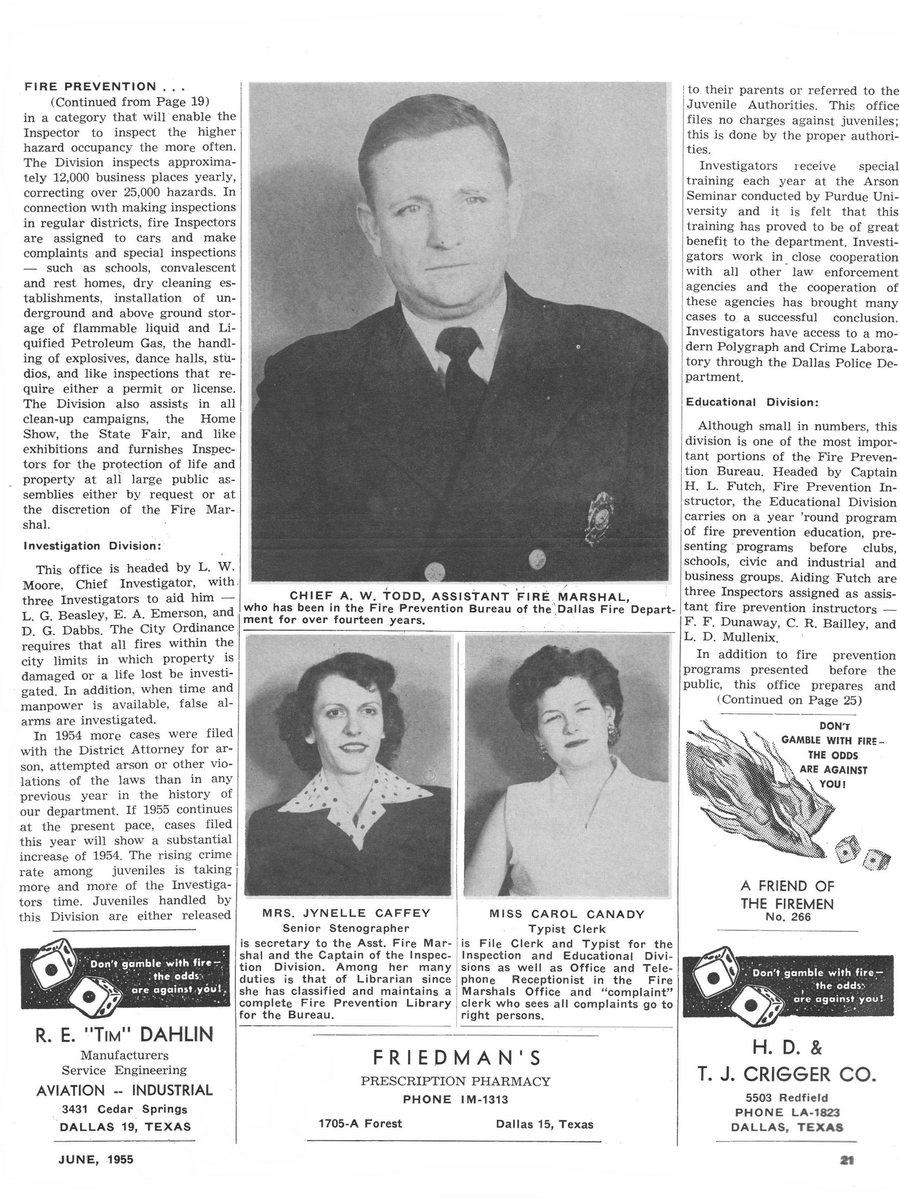 1955 Texas Fireman page 21