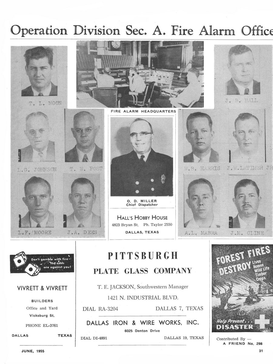 1955 Texas Fireman page 31