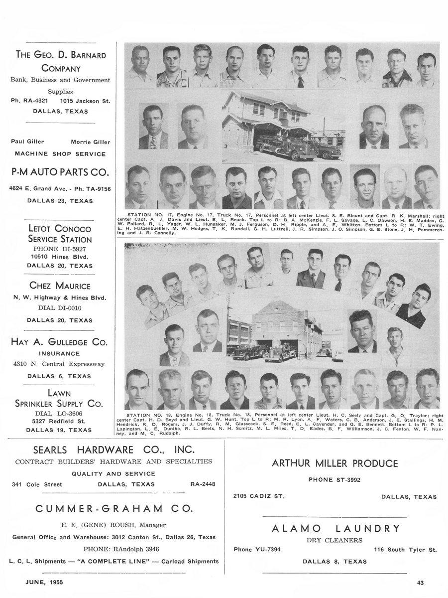 1955 Texas Fireman page 43