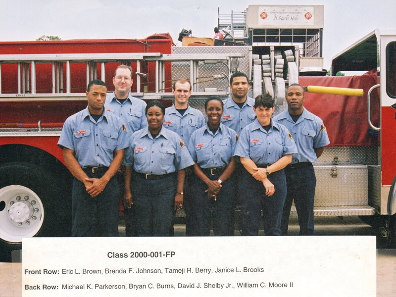 DFD Fire Prevention Officers Class 001 2000