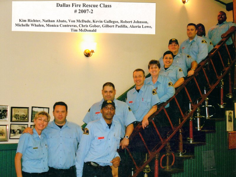 DFD Fire Prevention Officers Class 002 2007