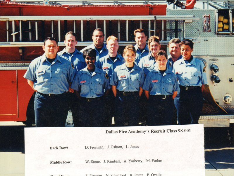 DFR Fire Prevention Recruit Class 98-001