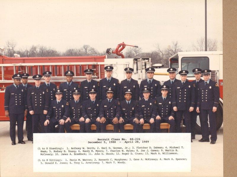 DFR Recruit Class 226 120588