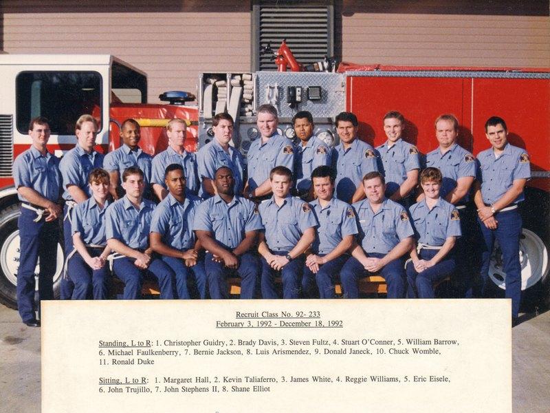 DFR Recruit Class 233 020392