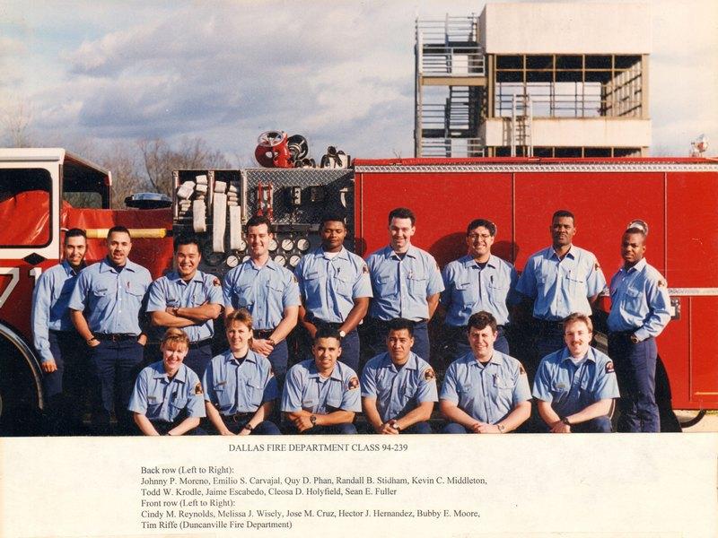 DFR Recruit Class 239 1994-2