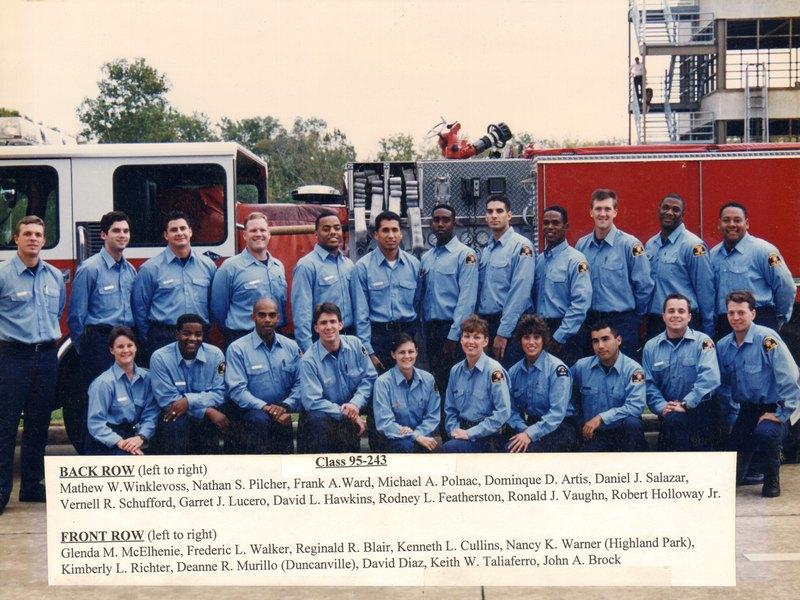 DFR Recruit Class 243 1995