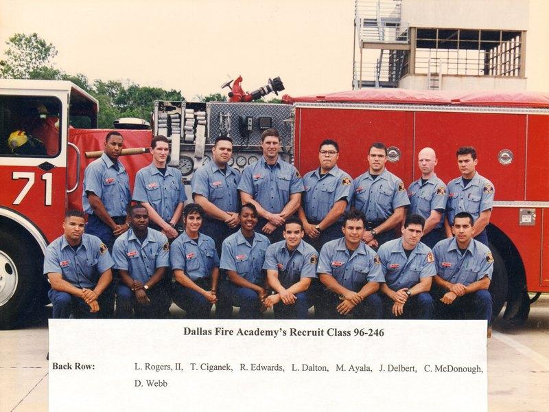 DFR Recruit Class 246 1996