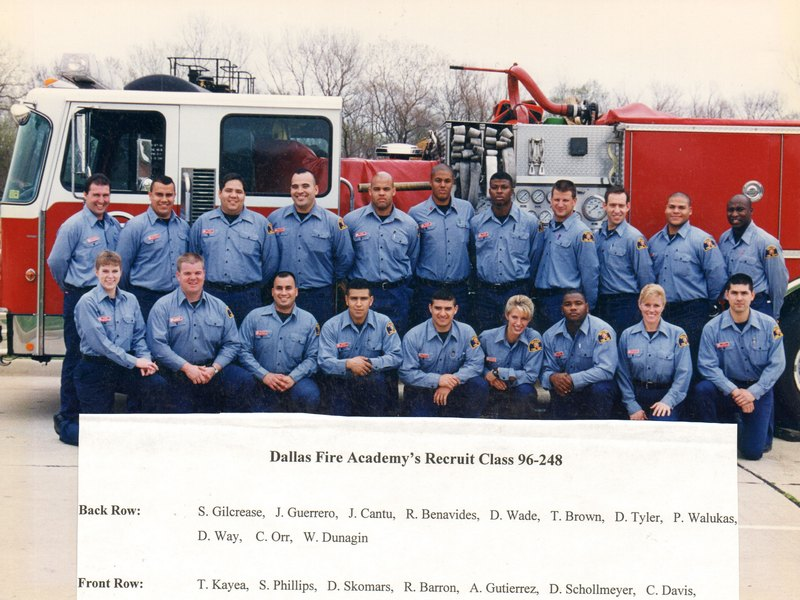 DFR Recruit Class 248 1996