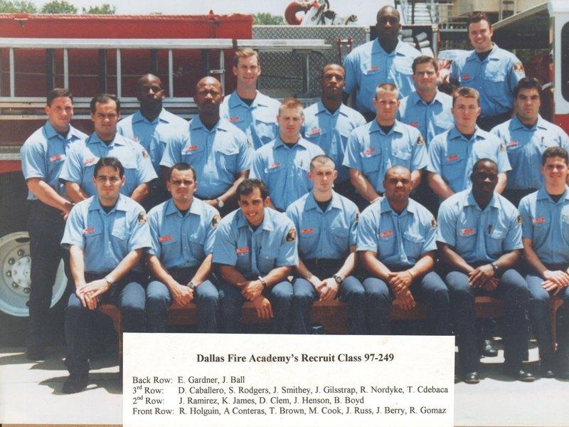 DFR Recruit Class 249 1997