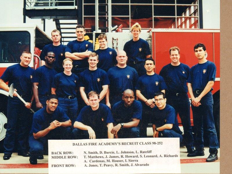 DFR Recruit Class 252 1998