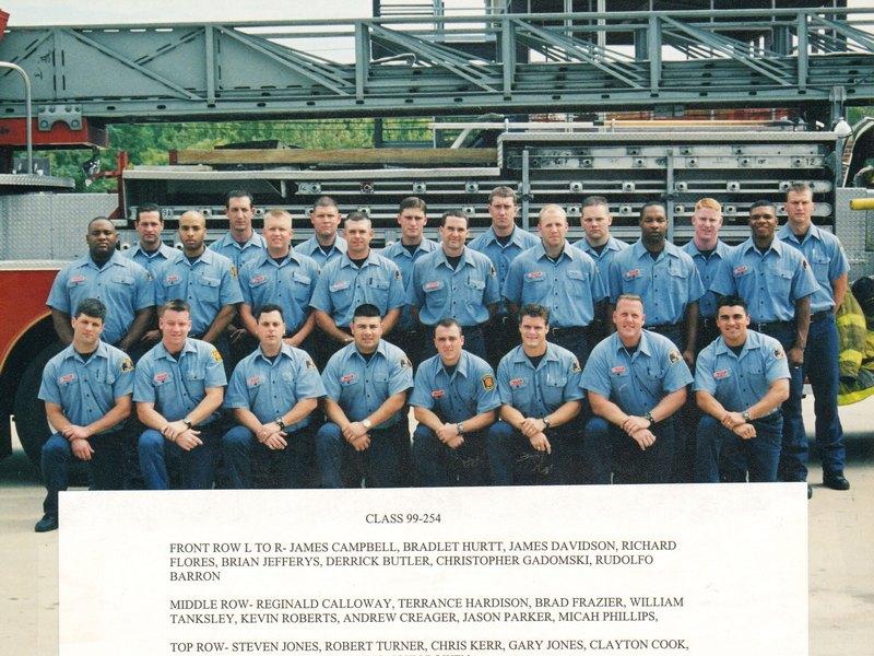DFR Recruit Class 254 1999