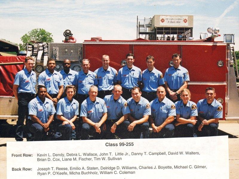 DFR Recruit Class 255 1999