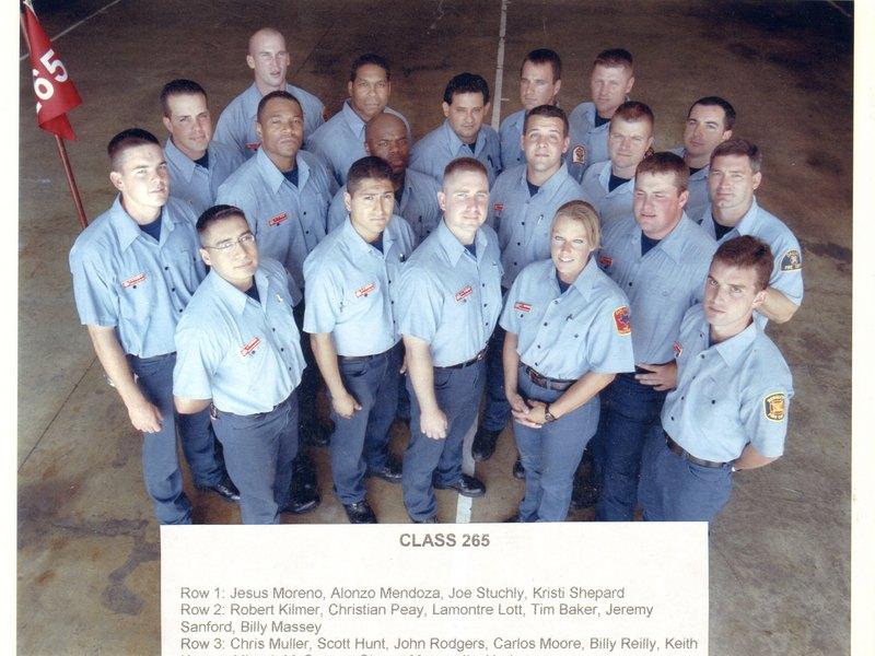 DFR Recruit Class 265 2002