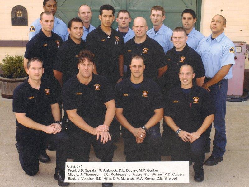 DFR Recruit Class 271 2004