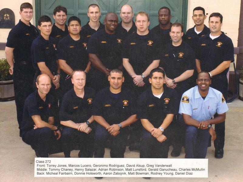 DFR Recruit Class 272 2004