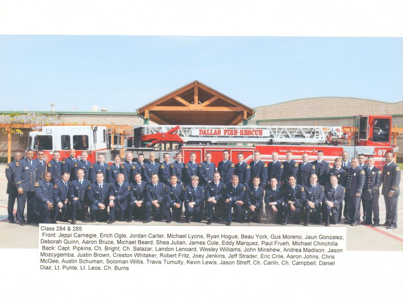 DFR Recruit Class 284 and 285