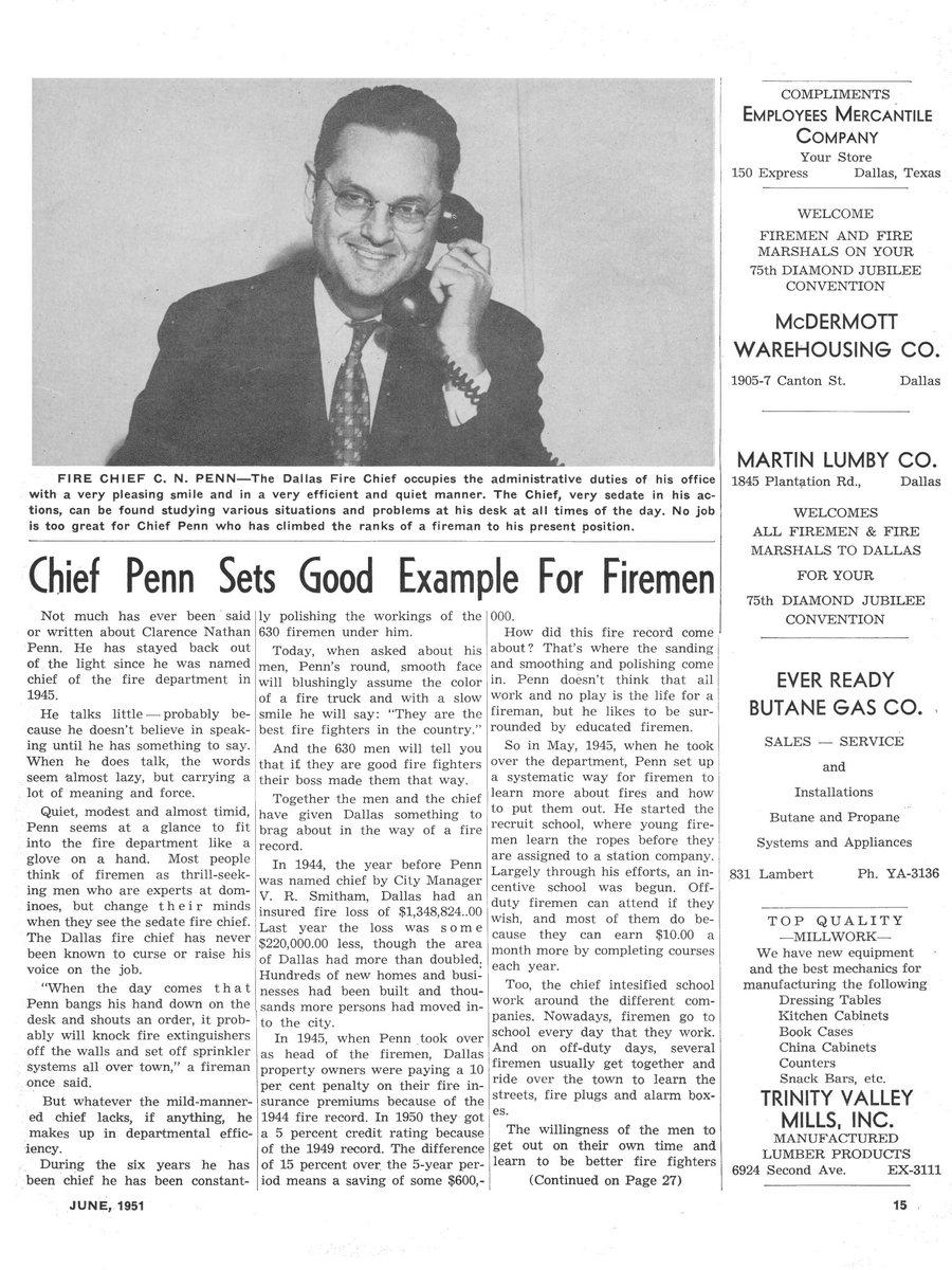 1951 Texas Fireman page 15