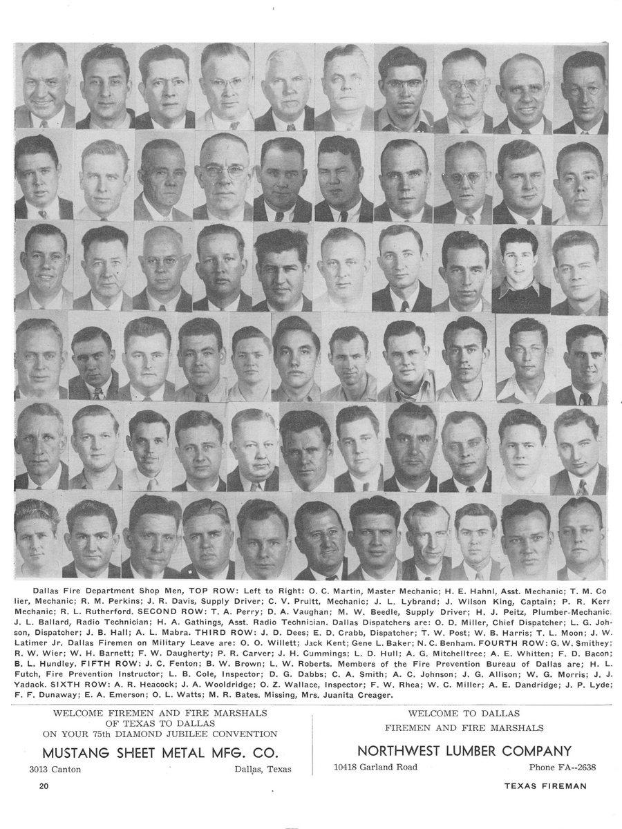 1951 Texas Fireman page 20
