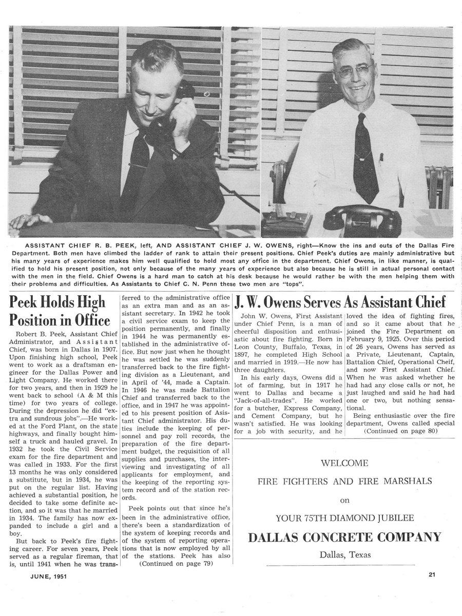 1951 Texas Fireman page 21