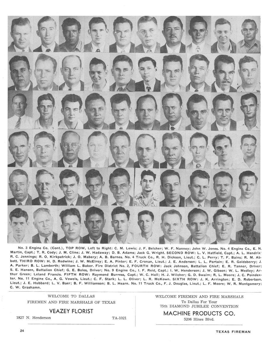 1951 Texas Fireman page 24